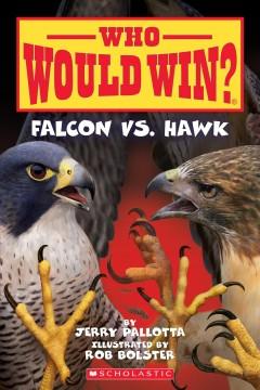 Falcon vs. hawk by Pallotta, Jerry