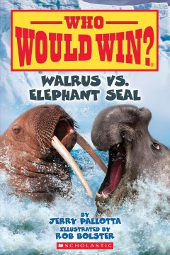 Walrus vs. elephant seal by Pallotta, Jerry