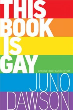 This book is gay by Dawson, James  (Young adult fiction writer)